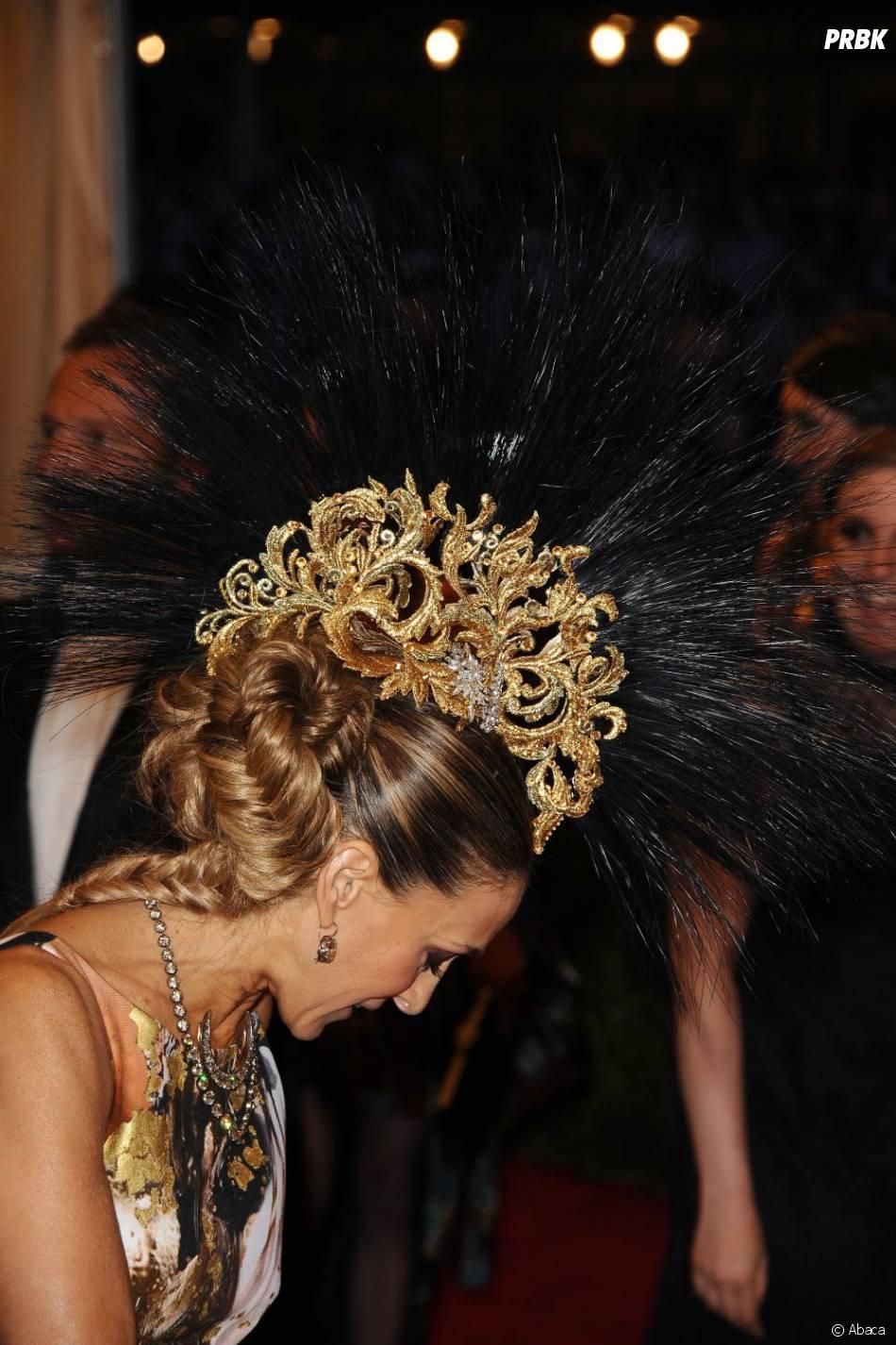 La coiffe de Sarah Jessica Parker a surpris au MET Ball 2013