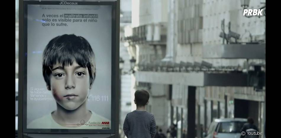 Une publicité originale contre la maltraitance