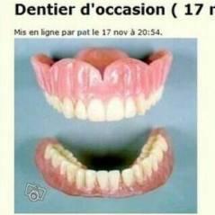 Le Bon Coin : dentier d'occasion, horodateur... les perles du site listées sur un compte Twitter