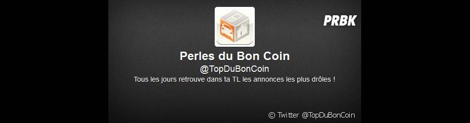 Le compte Twitter @TopDuCoin liste les perles du site de petites annonces