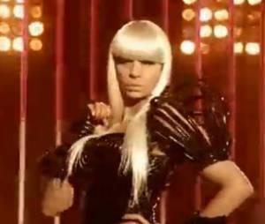 Karine Le Marchand s'est grimée en Lady Gaga pour le teaser officiel de l'émission.