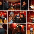 Les artistes pendant les répétitions des Trace Urban Music Awards 2013