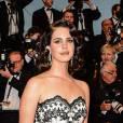 Lana del Rey en robe vintage pour la soirée d'ouverture du Festival de Cannes 2013