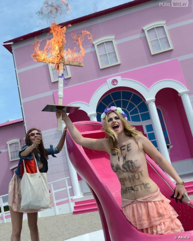 Les Femen pas fans de Barbie
