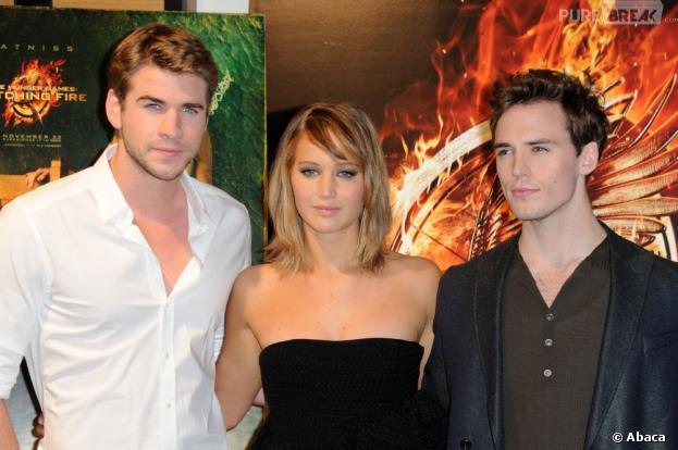 L'équipe d'Hunger Games 2 à Cannes, samedi 18 mai 2013