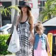 Jessica Alba et sa fille Haven.