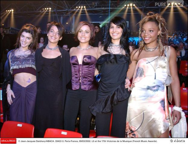 Les L5 ont été révélées en 2001 dans la saison 1 de Popstars.