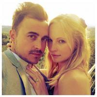 The Vampire Diaries : Caroline fiancée... dans la vie