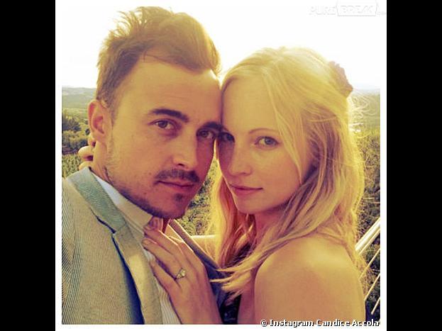 Candice Accola de Vampire Diaries est fiancée