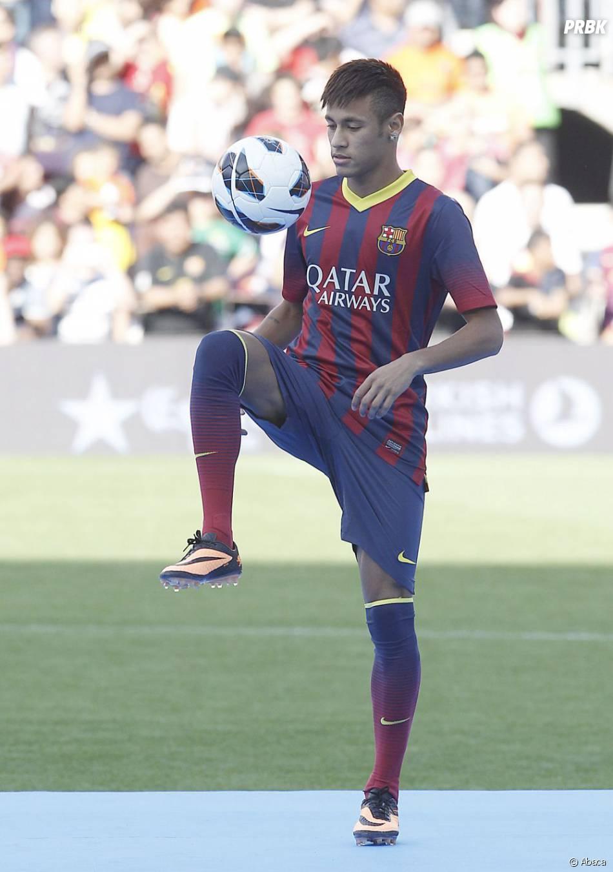 Neymar a fait le show au Camp Nou, lundi 3 juin 2013