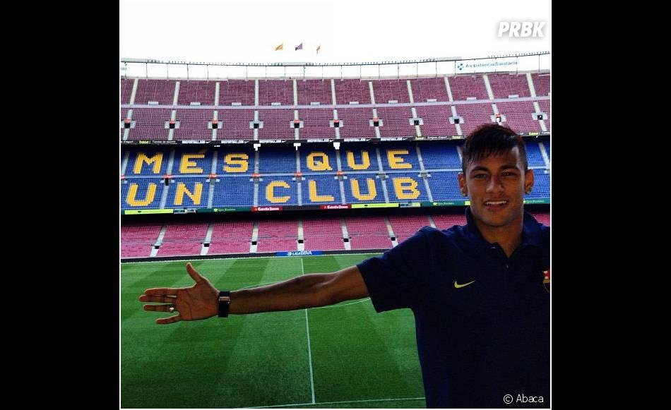 Ca y est, Neymar est au FC Barcelone
