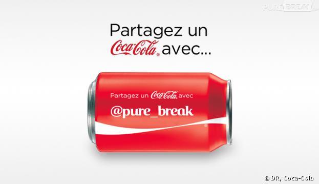 Coca-Cola permet de personnaliser une canette