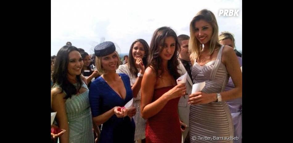 Plusieurs Miss France étaient présentes au mariage de Rachel Legrain-Trapani, Miss France 2007
