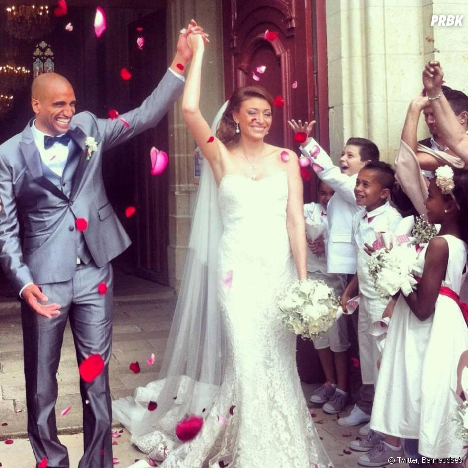 Rachel Legrain-Trapani(Miss France 2007) a épousé Aurélien Capoue le samedi 8 juin