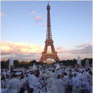 """Dîner en blanc de Paris : 11 000 """"VIP"""" ont blanchi le Louvre et le Trocadéro"""