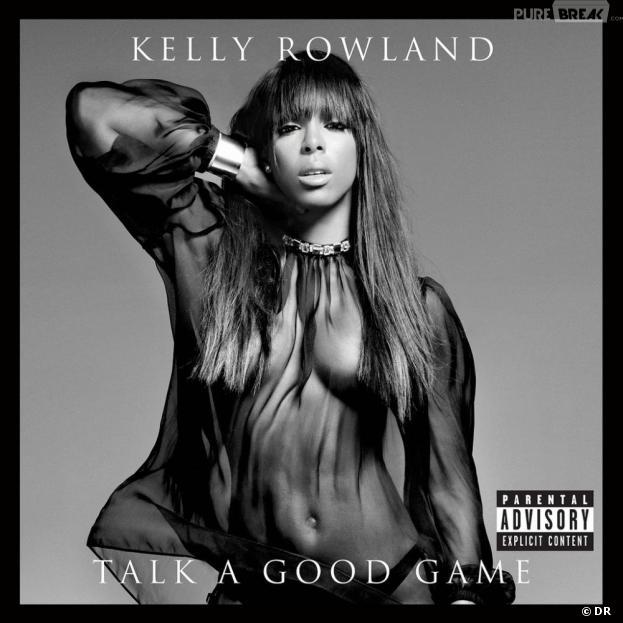 """Kelly Rowland sans soutif en couverture de son album """"Talk a Good Game"""""""