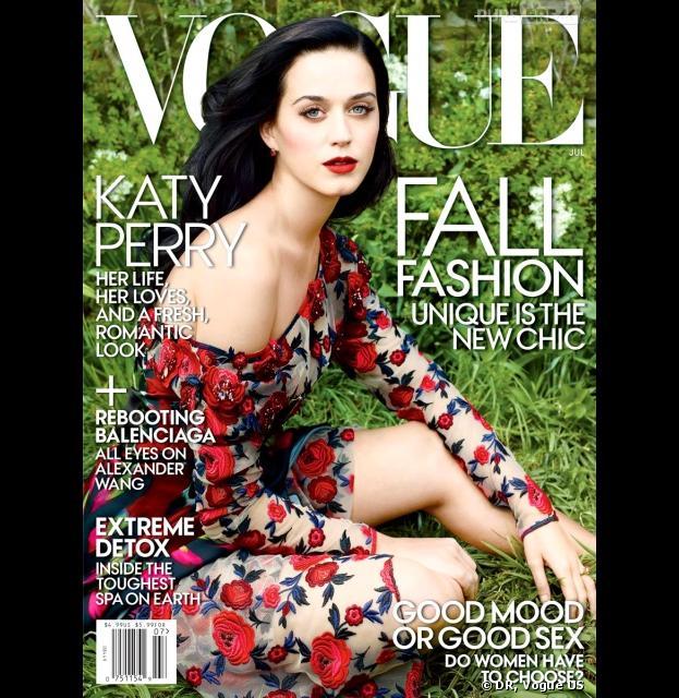 Katy Perry en Une de Vogue US
