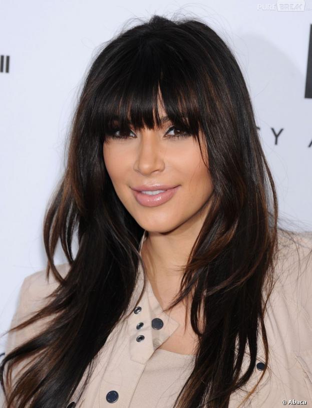Kim Kardashian réagit après la naissance de sa fille