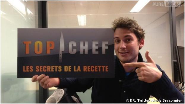 Alexis Braconnier de retour dans Top Chef 2014