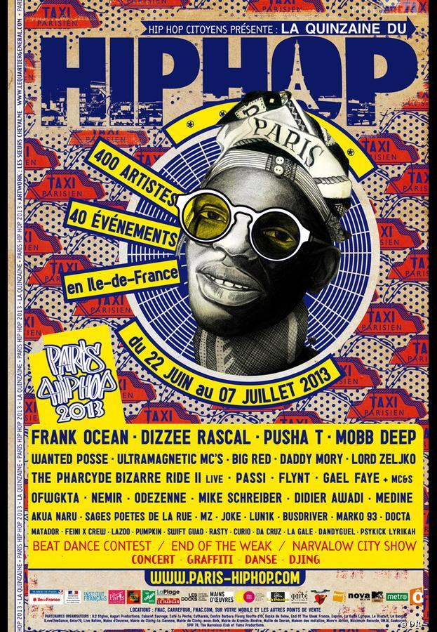 Le Festival Paris Hip Hop se déroule du 22 juin au 7 juillet 2013
