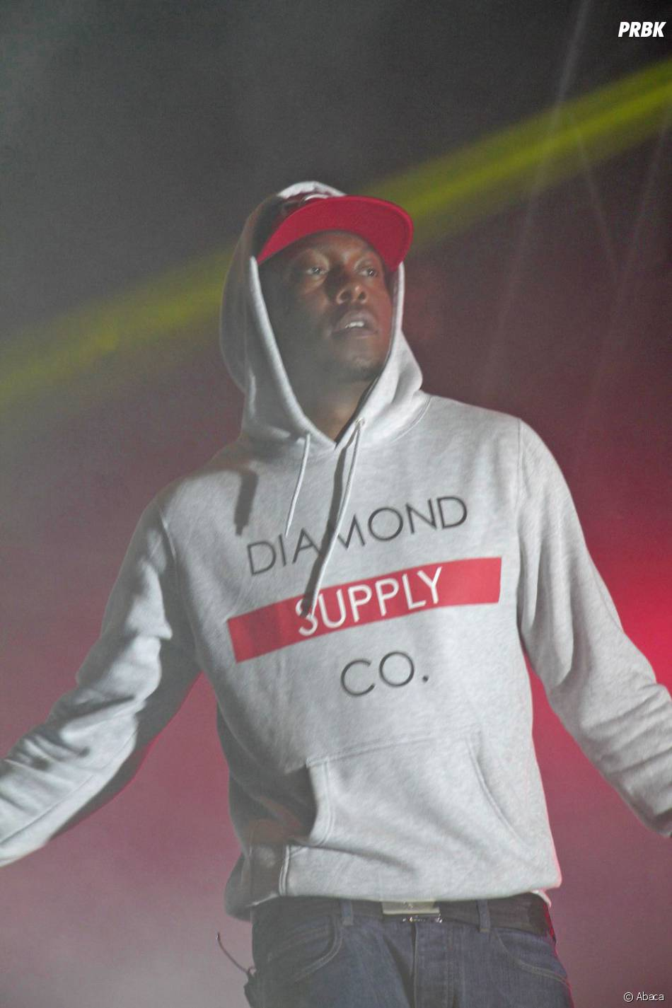 Dizzee Rascal, le MC anglais en concert le 24 juin 2013 pour la Paris Hip Hop Festival