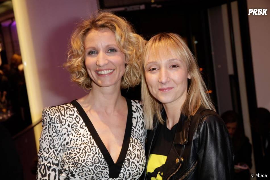 Audrey Lamy a indiqué qu'elle a tenu secret son lien de parenté avec Alexandra Lamy au début de sa carrière