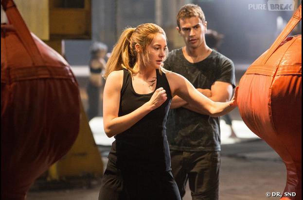 Shailene Woodley prête à se battre dans Divergent