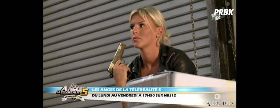 Les Anges 5 : Amélie crédible en actrice de film d'action ?