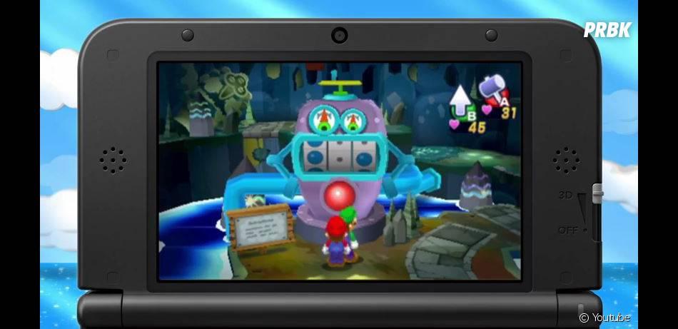 Mario & Luigi Dream Team sort sur 3DS