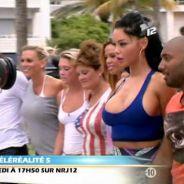 """Les Anges 5 - tournage du clip """"Ocean Drive Avenue"""" : Nabilla les seins (presque) à l'air, Aurélie chope la grosse tête"""