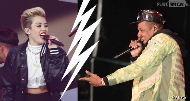 Jay-Z clashe Miley Cyrus dans Somewhere in America