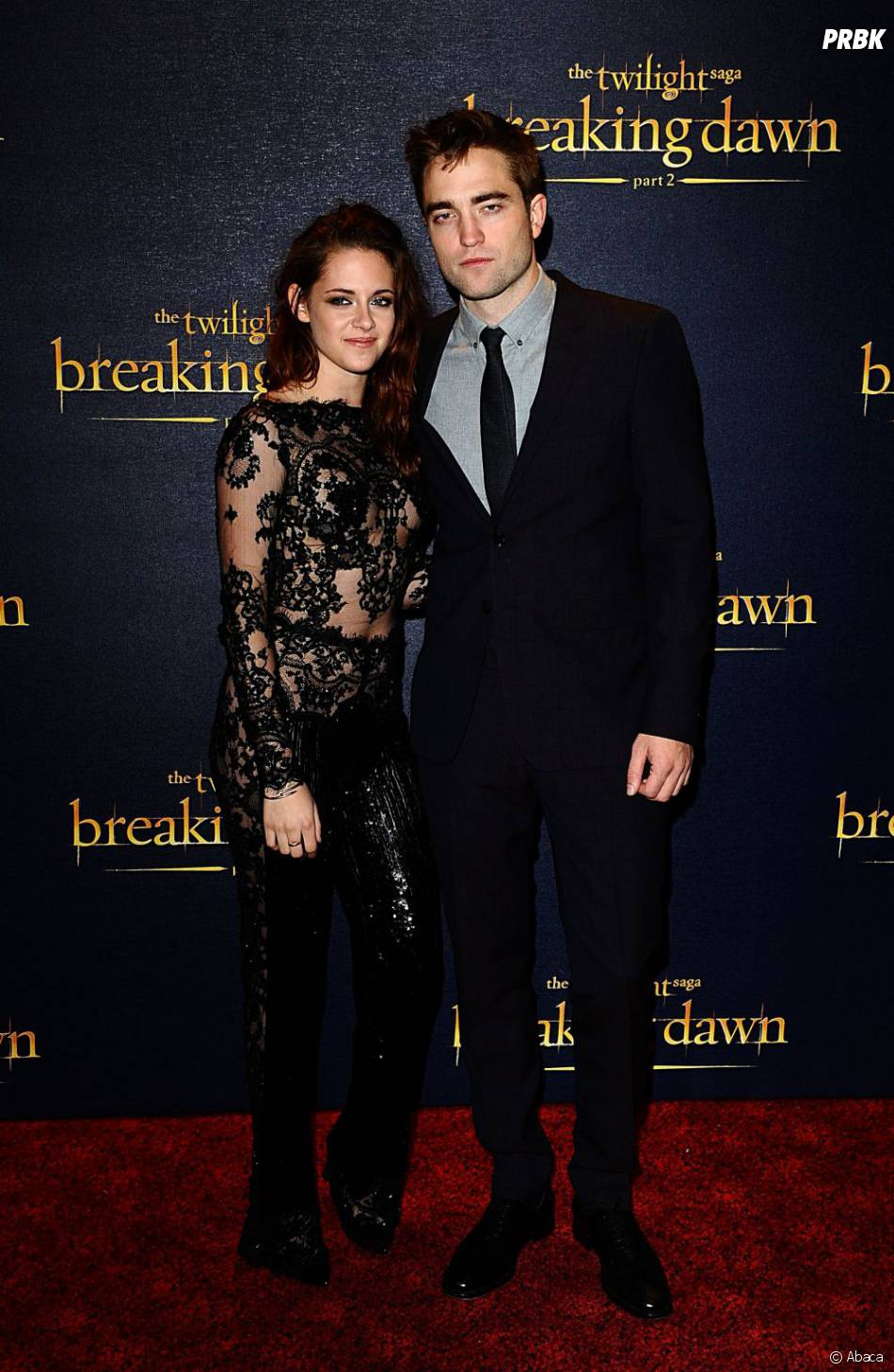 Robert Pattinson et Kristen Stewart à Londres pour Twilight 5