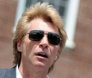Jon Bon Jovi a prononcé un discours sur l'ouragan Sandy dans le New Jersey, lundi 8 juillet 2013
