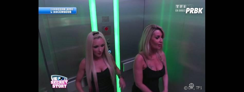 Secret Story 7 : Sonja et Florine dans la Salle d'Attente.