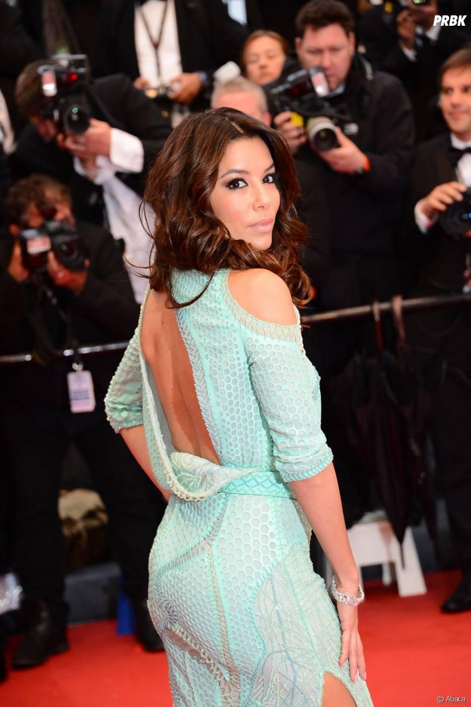 Eva Longoria sexy sur les marches du festival de Cannes 2013