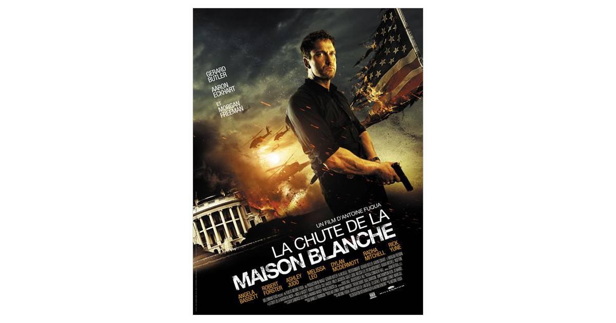 La chute de la maison blanche le 24 juillet en dvd for Attaque de la maison blanche