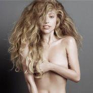 Lady Gaga : nue et sans maquillage pour V, c'est très chaud