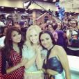 Vampire Diaries : Nina Dobrev, Candice Accola et Kat Graham au Comic Con 2013