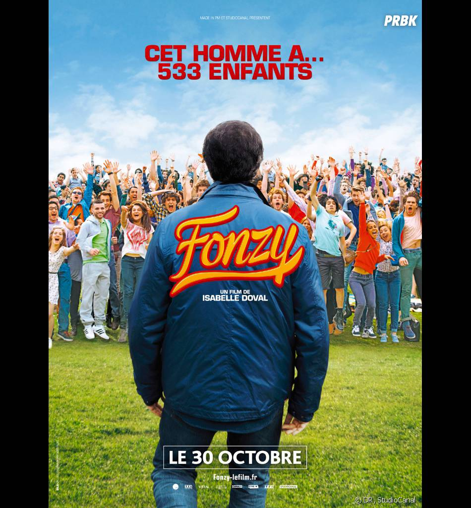 Fonzy : poster du film avec José Garcia