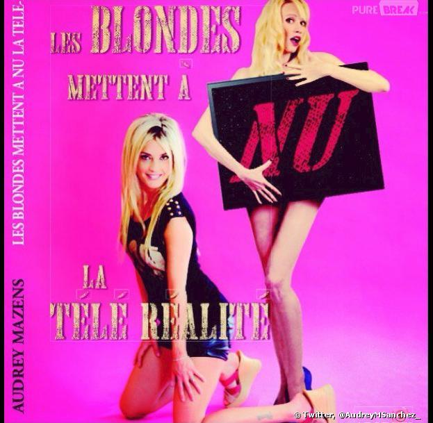 Secret Story : Audrey Mazens de retour avec son livre Les Blondes mettent à nu la télé-réalité
