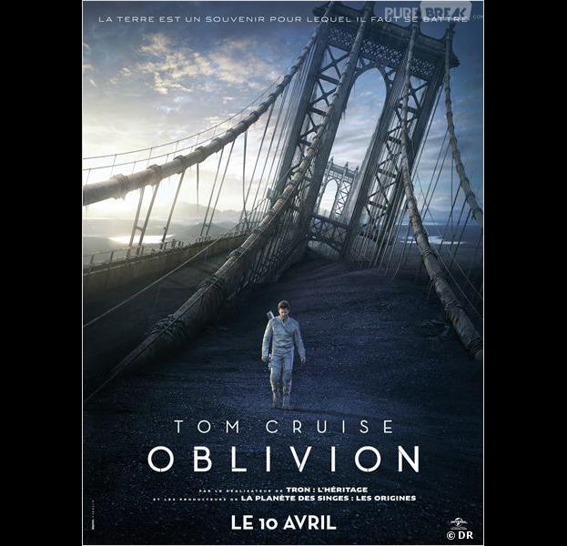 Oblivion, l'affiche