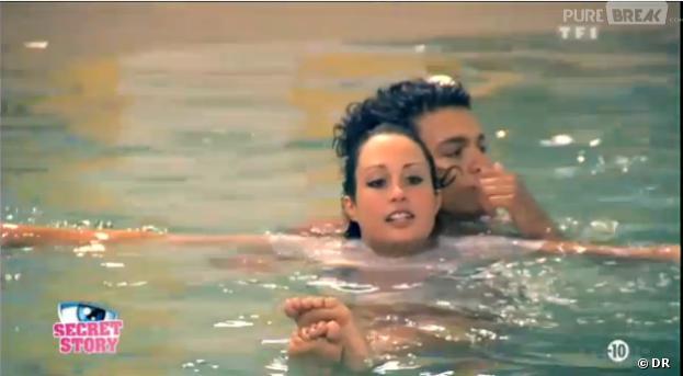 Secret Story 7 : Jamel et Emilie se sont chauffés dans la piscine