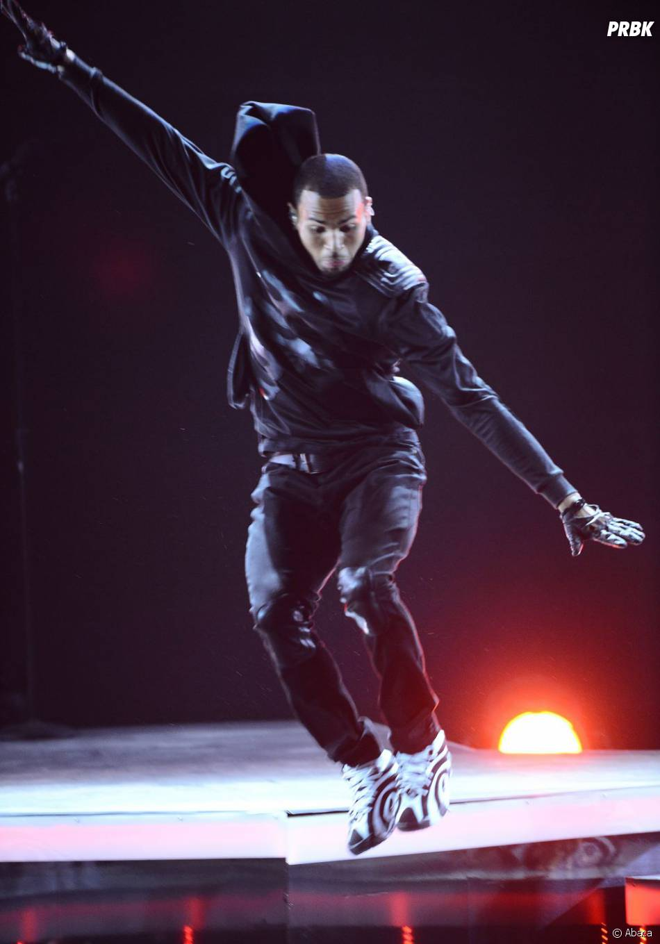 Chris Brown aux BET Awards 2013