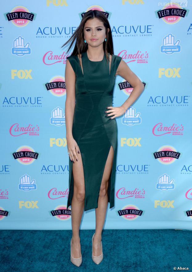 Selena Gomez aux Teen Choice Awards 2013, le 11 août à Los Angeles