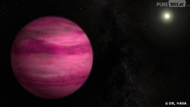 La NASA a découvert une planète rose hors de notre système solaire
