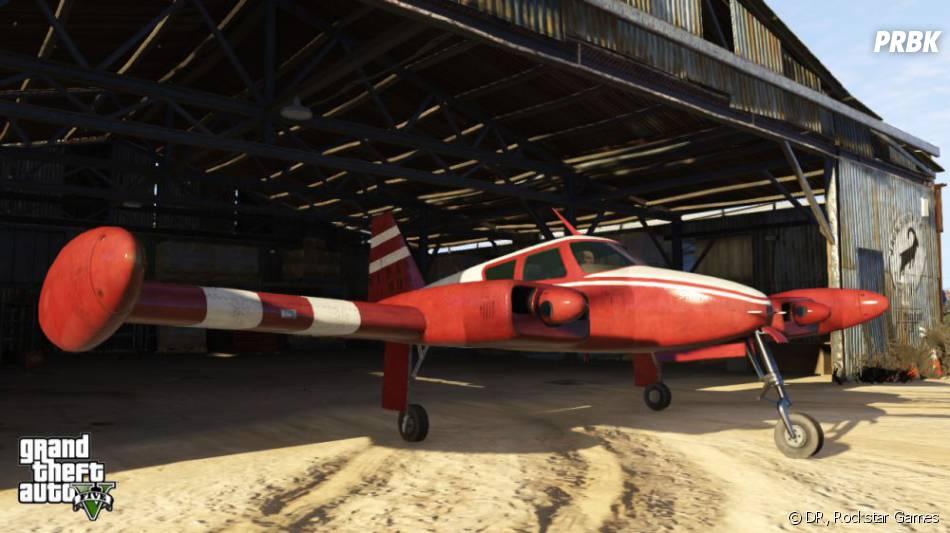 GTA 5 : l'un des avions que les trois héros pourront piloter