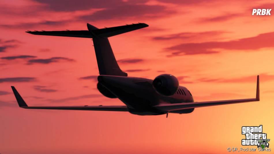 GTA 5 : un jet privé pour visiter Los Santos