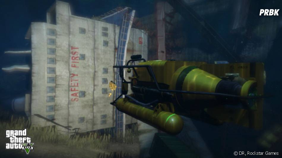 GTA 5 comprendra de nouvelles phases en sous-marin