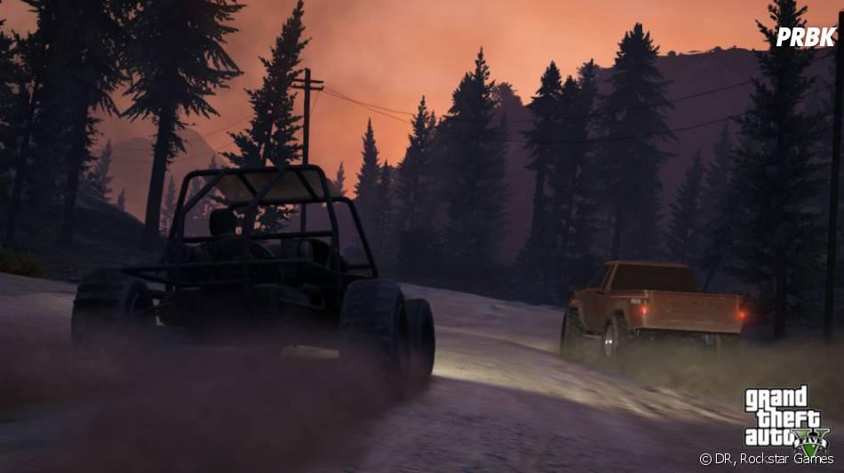 GTA 5 proposera de conduire des buggy