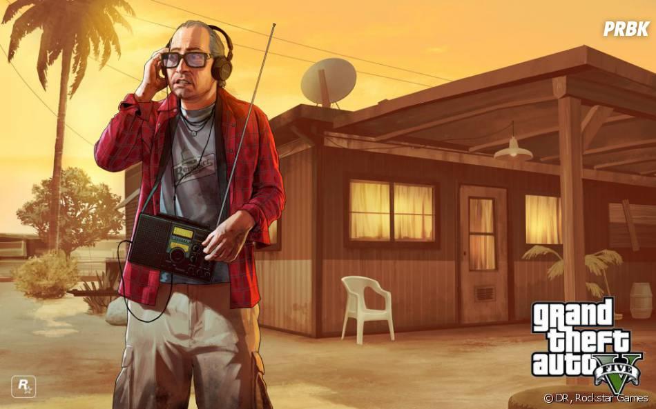 GTA 5 : Ron l'un des personnages secondaires du jeu